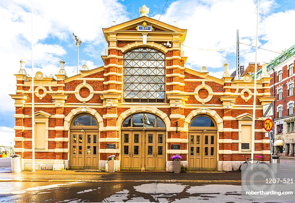 Kauppahalli market at the port of Helsinki, Uusimaa, Finland, Scandinavia, Europe