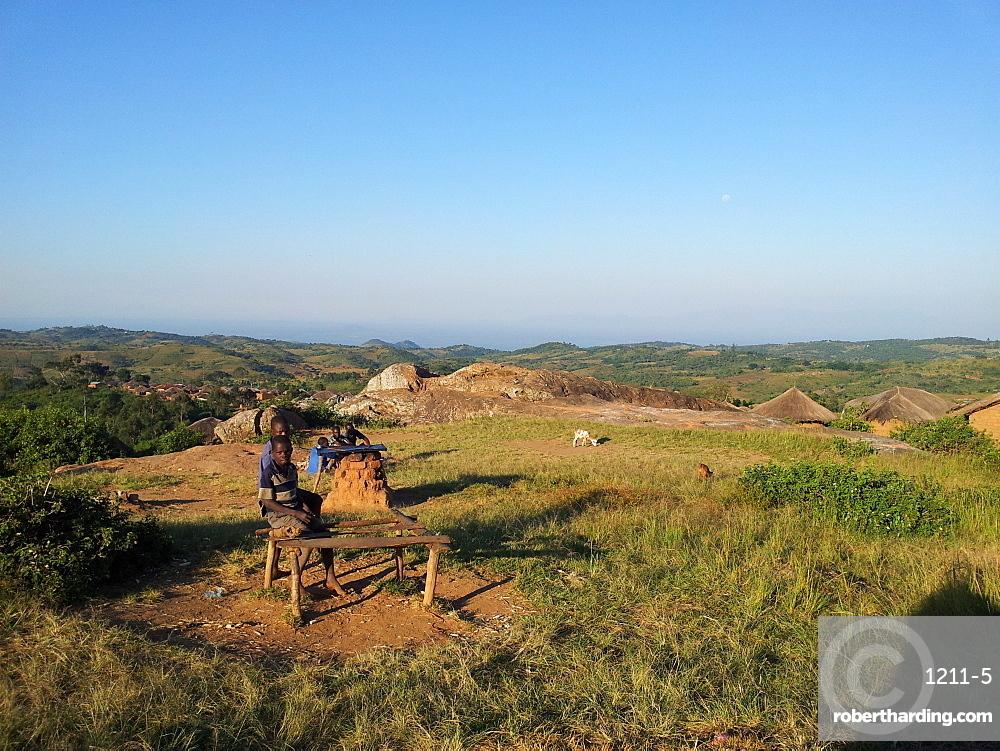 Rural village, Malawi, Africa