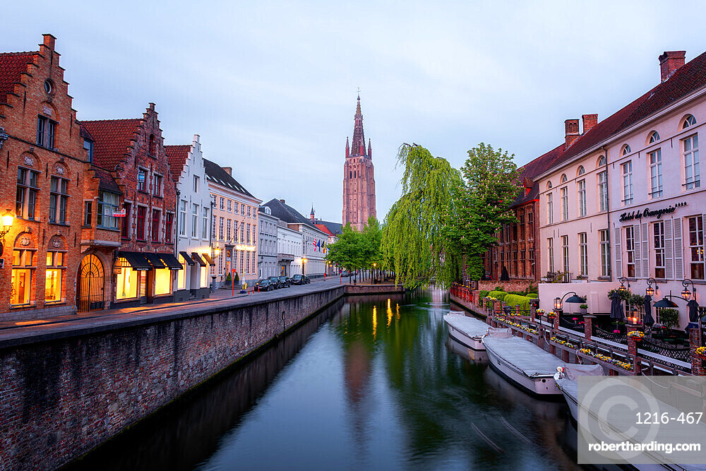 Church of our Lady, Bruges, Belgium, Europe