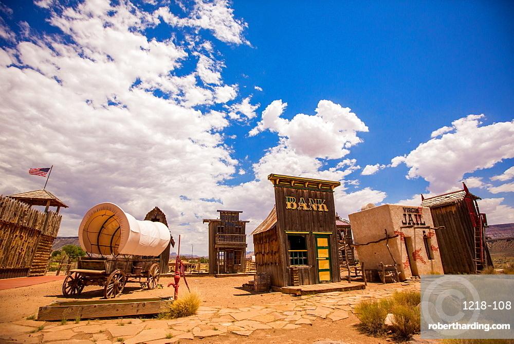 Ghost town, Virgin Trading Post, Utah, United States of America, North America