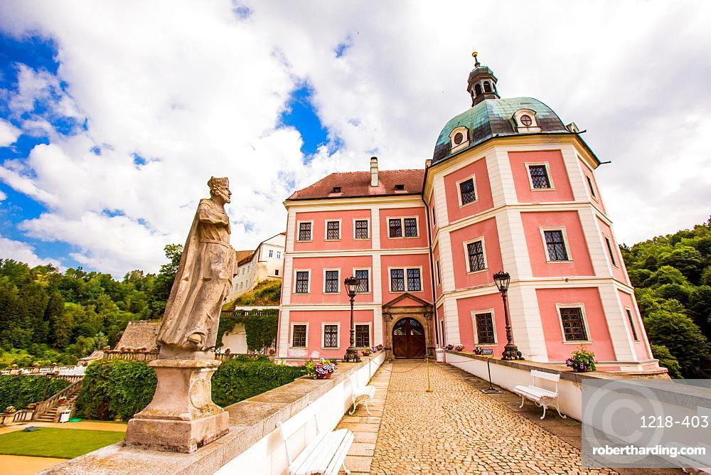 Becov Castle in Karlovy Vary, Bohemia, Czech Republic, Europe