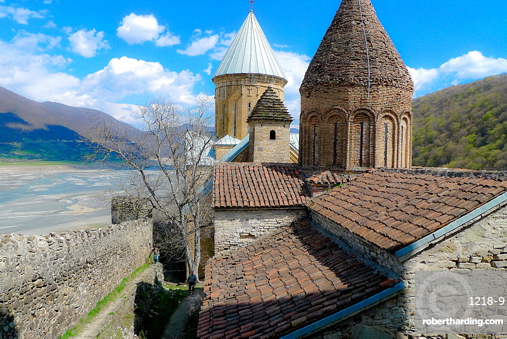 Castle in the countryside of Tbilisi, The Republic of Georgia, Central Asia, Asia