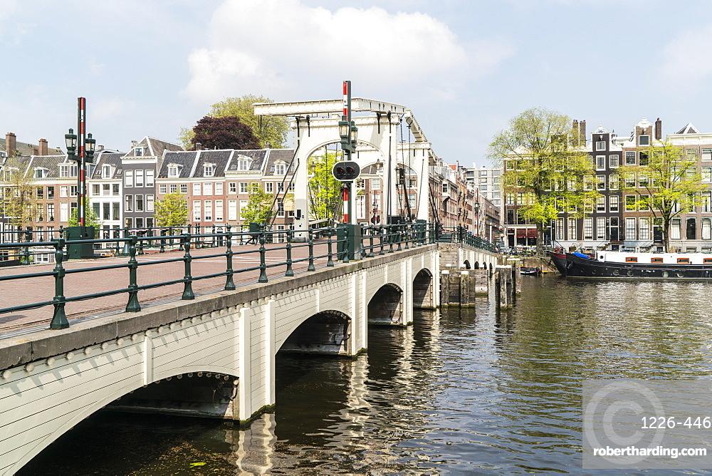 Magere Brug, the Skinny Bridge, Amsterdam, Netherlands