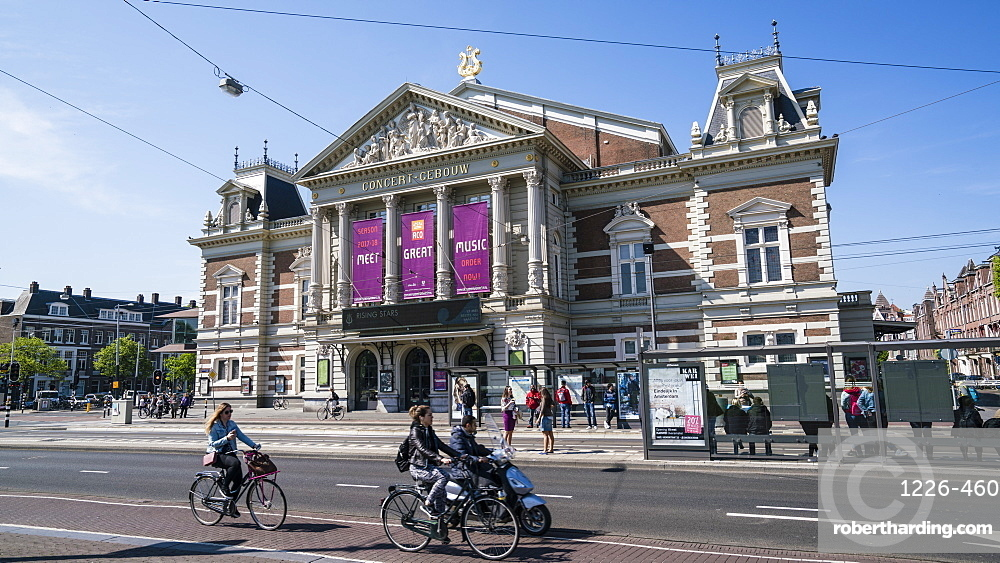 The Concertgebouw, neoclassical concert hall, Amsterdam, Netherlands, Europe