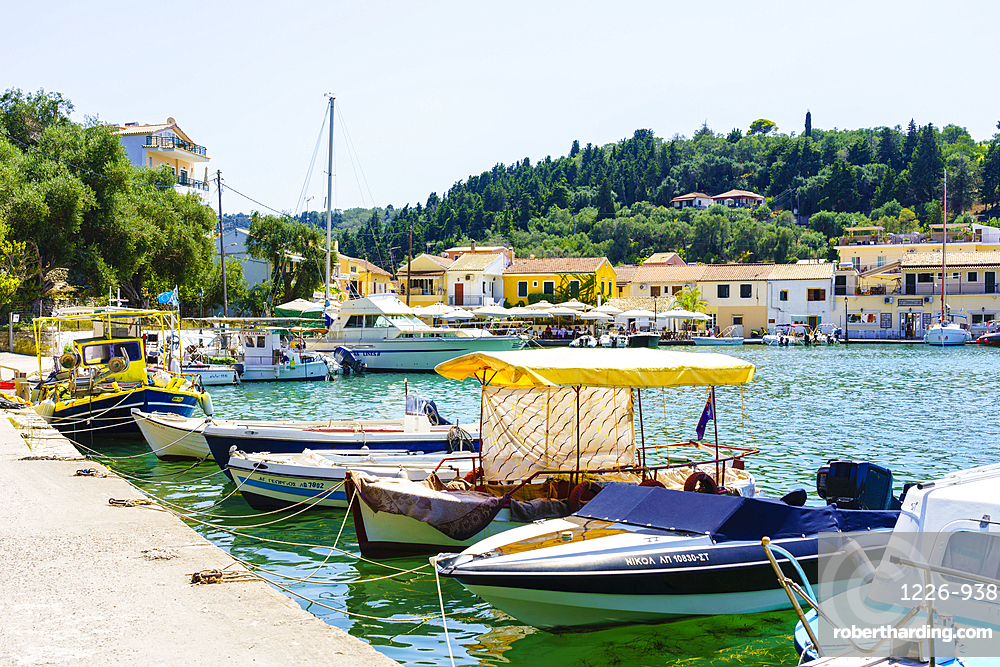 Lakka, Paxos, Ionian Islands, Greek Islands, Greece, Europe