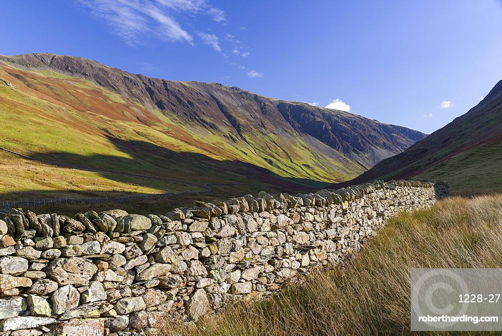 Honister Pass, Lake District National Park, Cumbria, England, United Kingdom, Europe