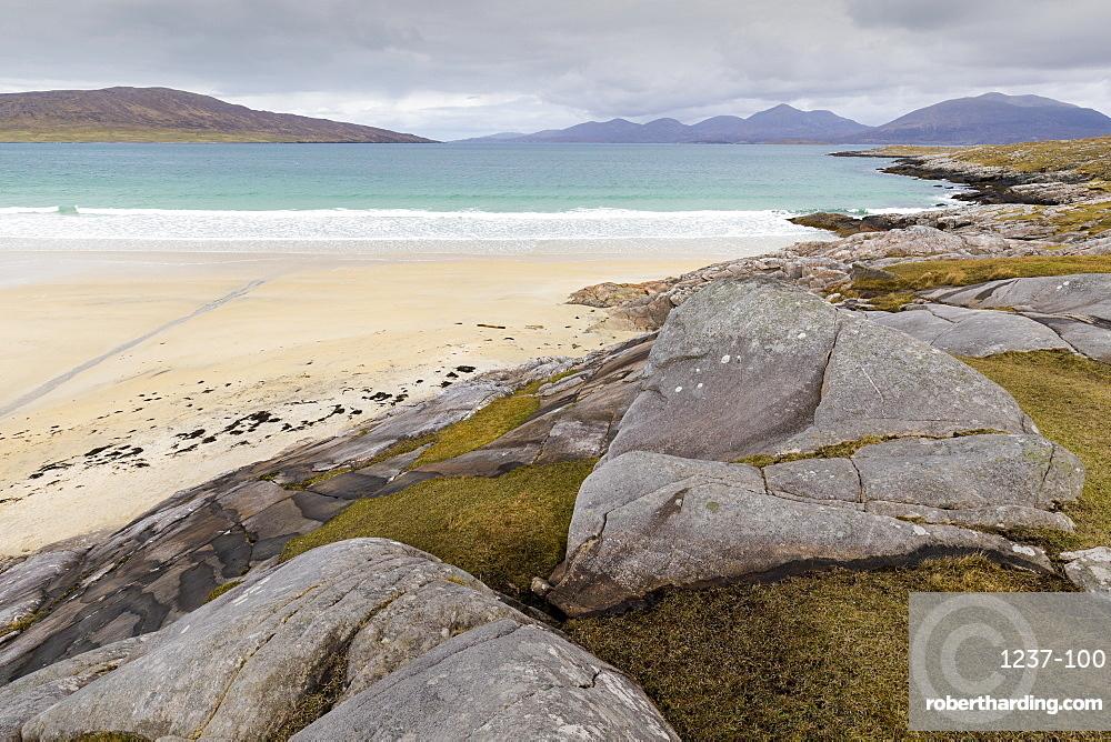 Luskentyre Beach, Isle of Harris, Outer Hebrides, Scotland, United Kingdom, Europe
