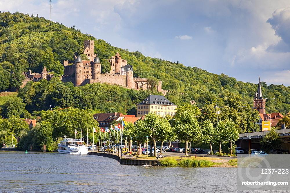 Wertheim Castle, River Main, Baden-Wurttemberg, Germany, Europe