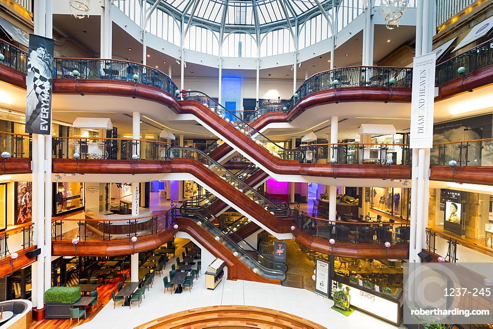 Princes Square Shopping Centre, Glasgow, Scotland, United Kingdom, Europe