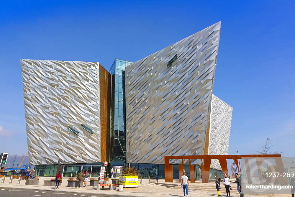 Titanic Belfast, Belfast, Ulster, Northern Ireland, United Kingdom, Europe