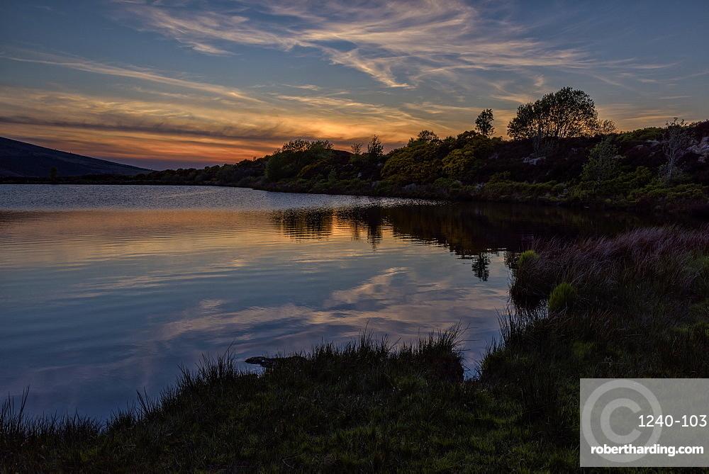 Oak Lough, Sperrin Mountains, County Tyrone, Ulster, Northern Ireland, United Kingdom, Europe