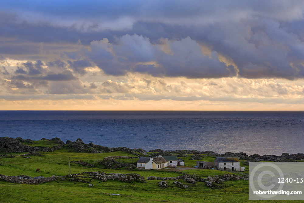 Cottage, Malin Head, County Donegal, Ulster, Republic of Ireland, Europe