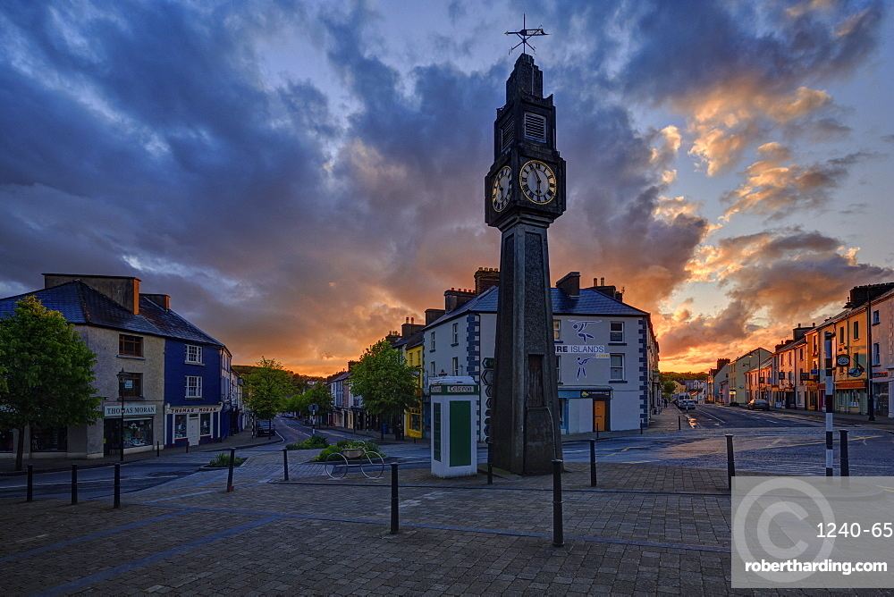 The Clock, Westport, County Mayo, Connacht, Republic of Ireland, Europe