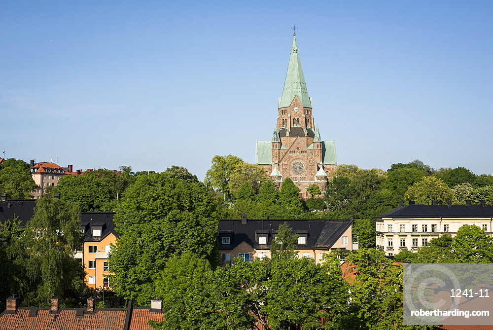 Sofia Church in Nytorget, Stockholm, Sweden, Scandinavia, Europe