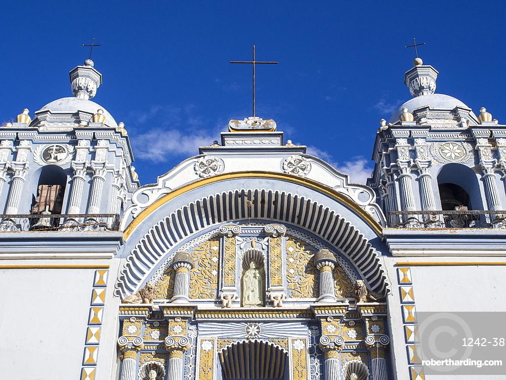 Santo Domingo church in the town of Ocotlan de Morelos, State of Oaxaca, Mexico, North America