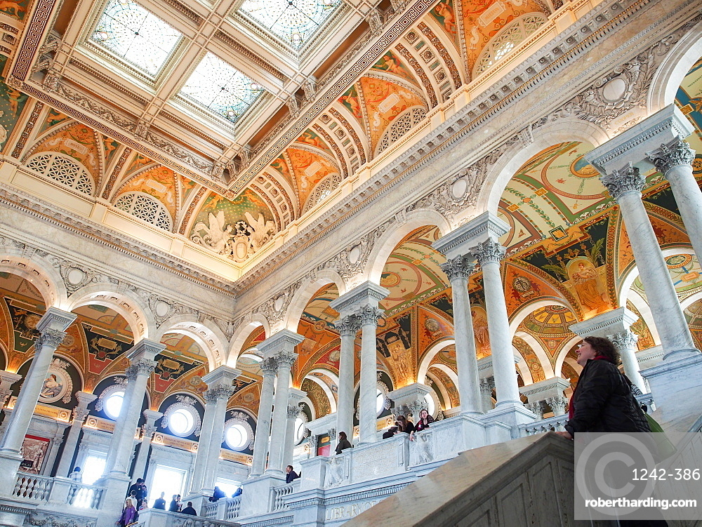 Great Hall of the Library of Congress, Washington, DC, United States