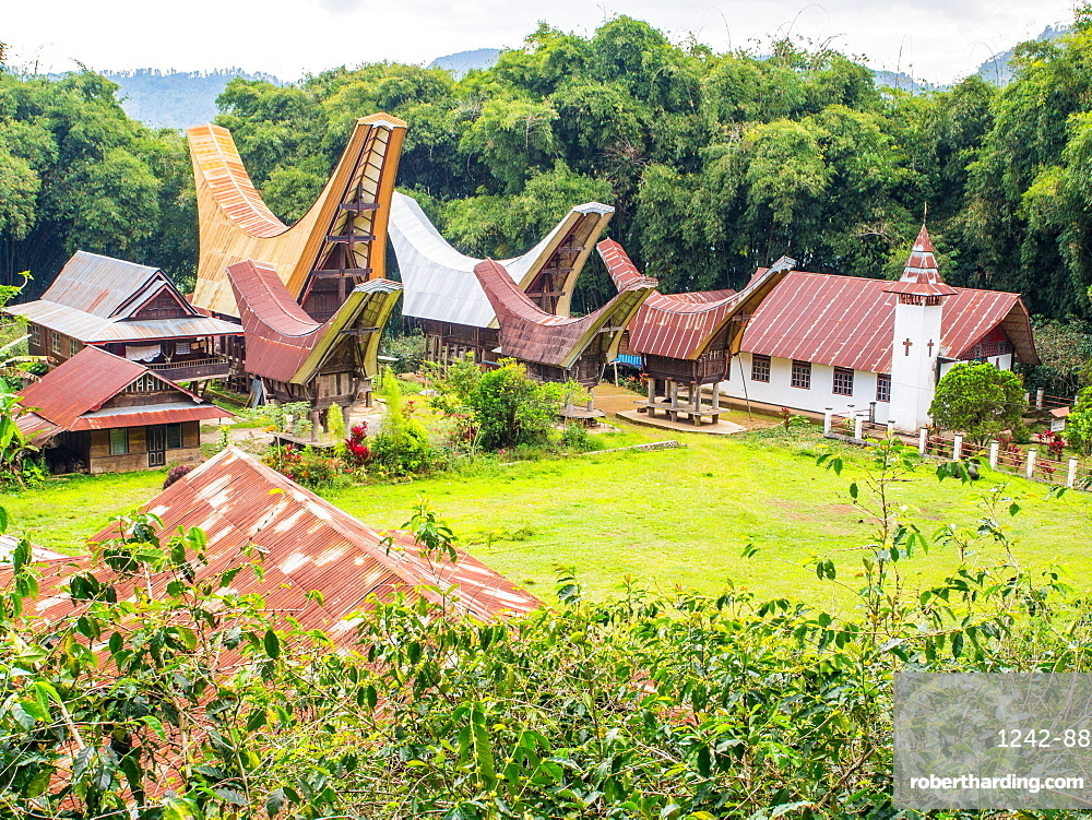 Small village, Tana Toraja, Sulawesi, Indonesia, Southeast Asia, Asia