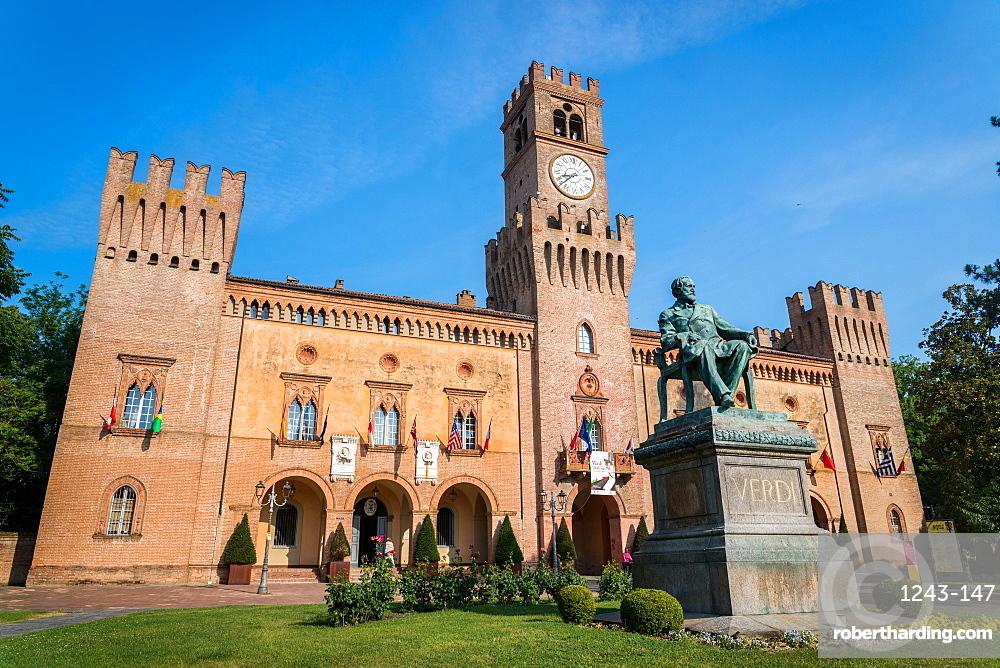 The Rocca Pallavicino in Busseto, Emilia-Romagna, Italy, Europe