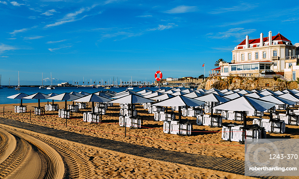 Conceicao Beach in Cascais, Lisbon region, Costa Verde, Portuguese Riviera, Portugal, Europe