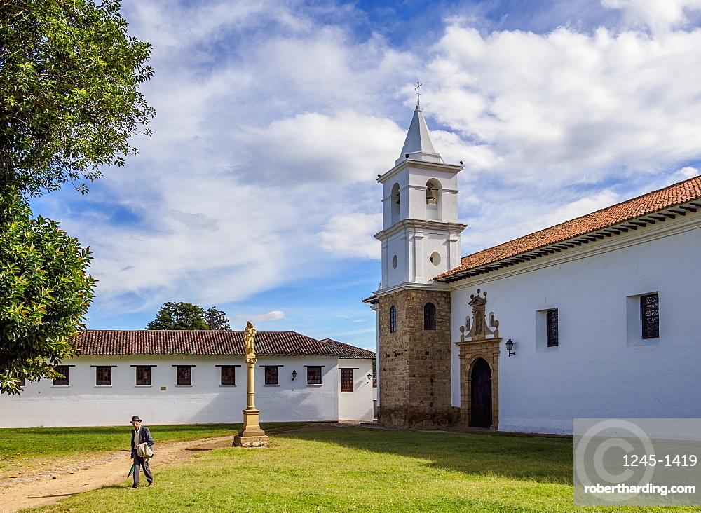 El Carmen Church, Villa de Leyva, Boyaca Department, Colombia, South America