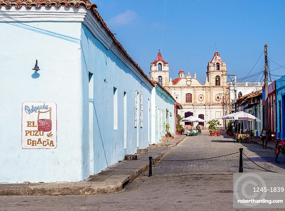 Plaza del Carmen, Camaguey, UNESCO World Heritage Site, Camaguey Province, Cuba, West Indies, Caribbean, Central America