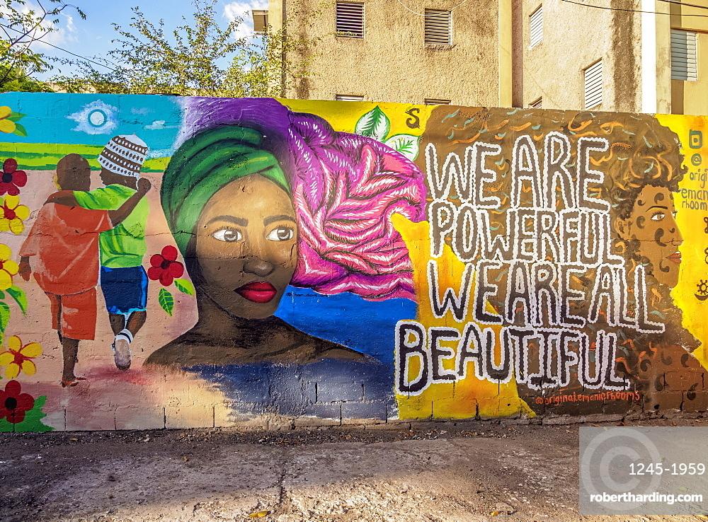 Barry Street Graffiti, Downtown, Kingston, Kingston Parish, Jamaica