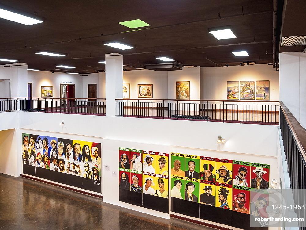 National Gallery of Jamaica, interior, Downtown, Kingston, Kingston Parish, Jamaica