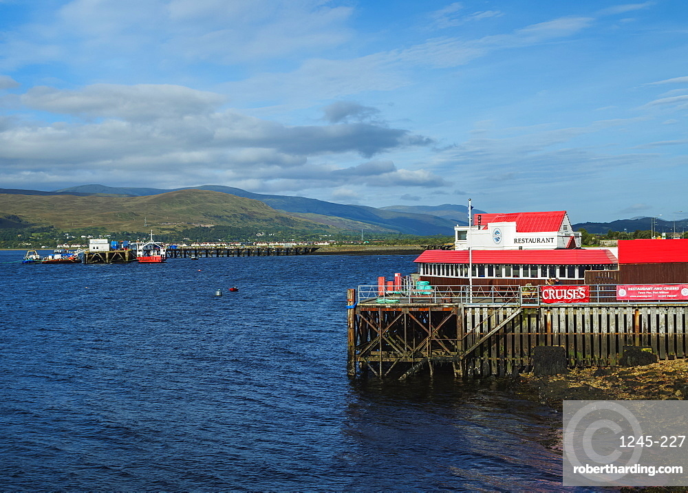 View of Loch Linnhe, Fort William, Highlands, Scotland, United Kingdom, Europe