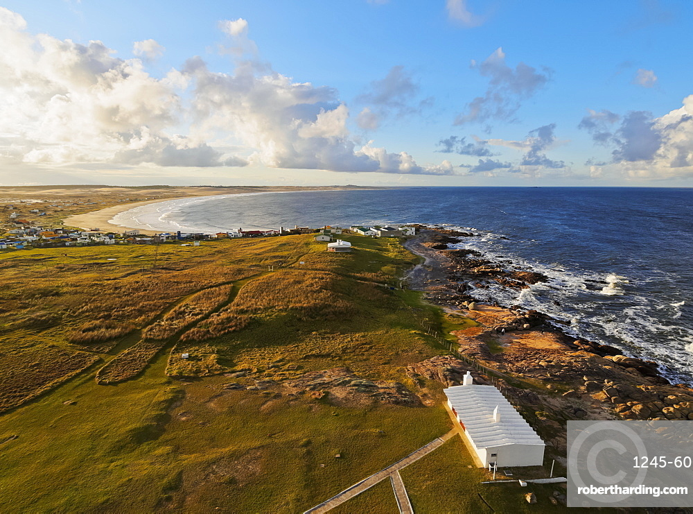 Elevated view of the Cabo Polonio, Rocha Department, Uruguay, South America