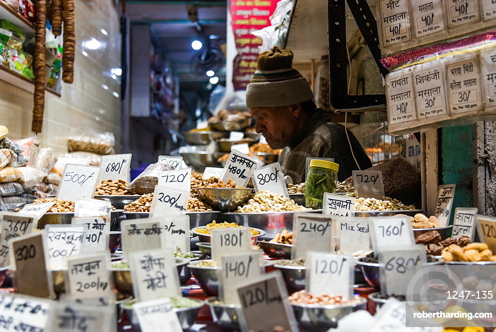 Chandni Chowk Spice market, Old Delhi, India, Asia