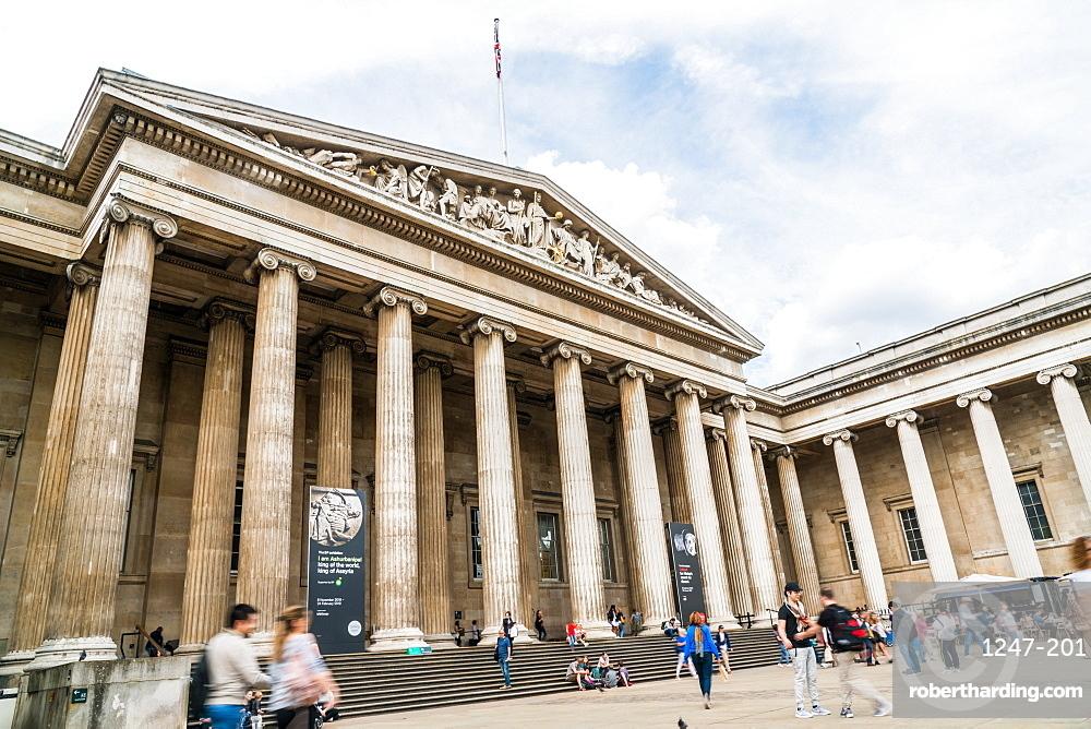 The British Museum, Bloomsbury, London, England, United Kingdom, Europe