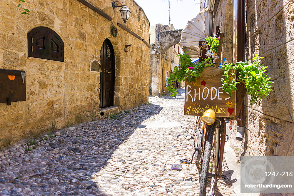 Old Town, Rhodes, Dodecanese, Greek Islands, Greece, Europe