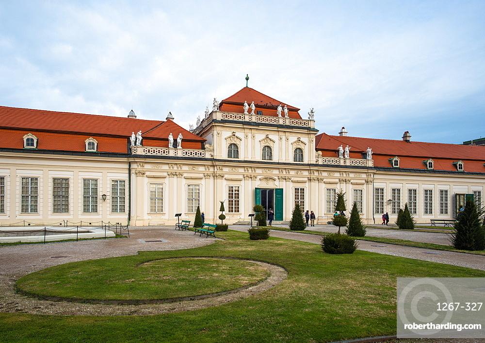 Upper Belvedere Palace and Gardens, Vienna, Austria, Europe