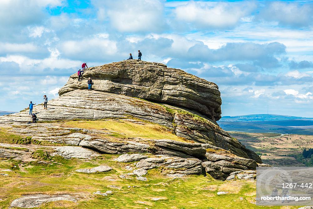 Haytor Rocks, Ilsington, Dartmoor National Park, Devon, England, United Kingdom, Europe