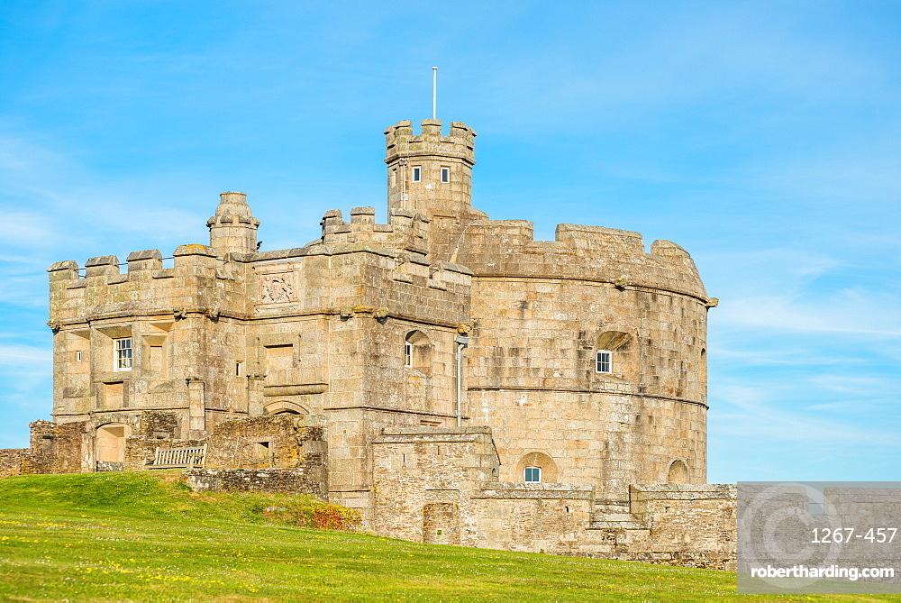Pendennis Castle, Falmouth, Cornwall, England, United Kingdom, Europe