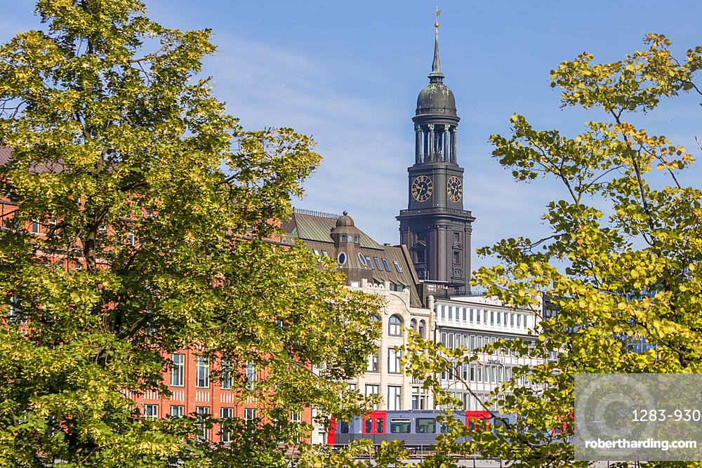 St. Michael's Church, Hamburg, Germany, Europe