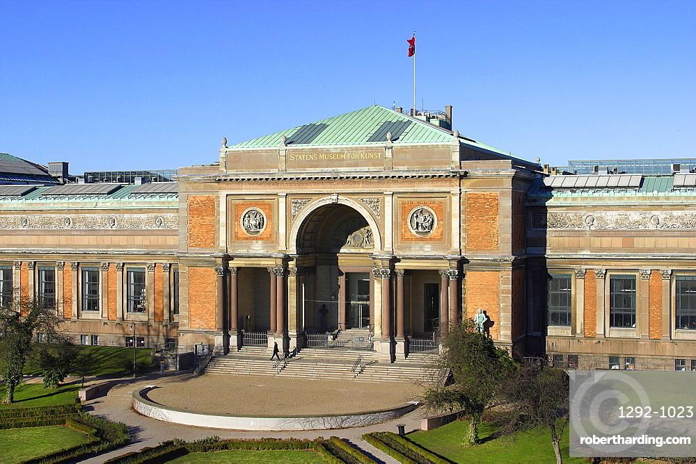 Statens Museum for Kunst, Copenhagen, Denmark, Europe
