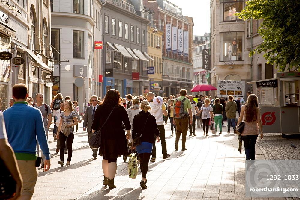 Ostergade, Copenhagen, Denmark, Europe