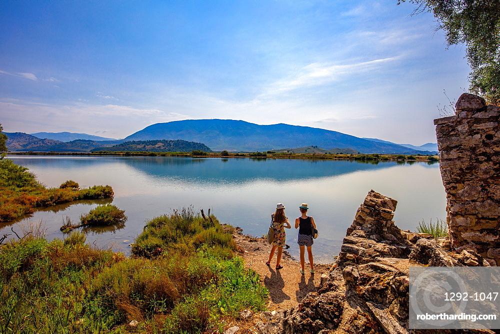 Butrint Archaeological Park, UNESCO World Heritage Site, Butrinto, Albania, Europe