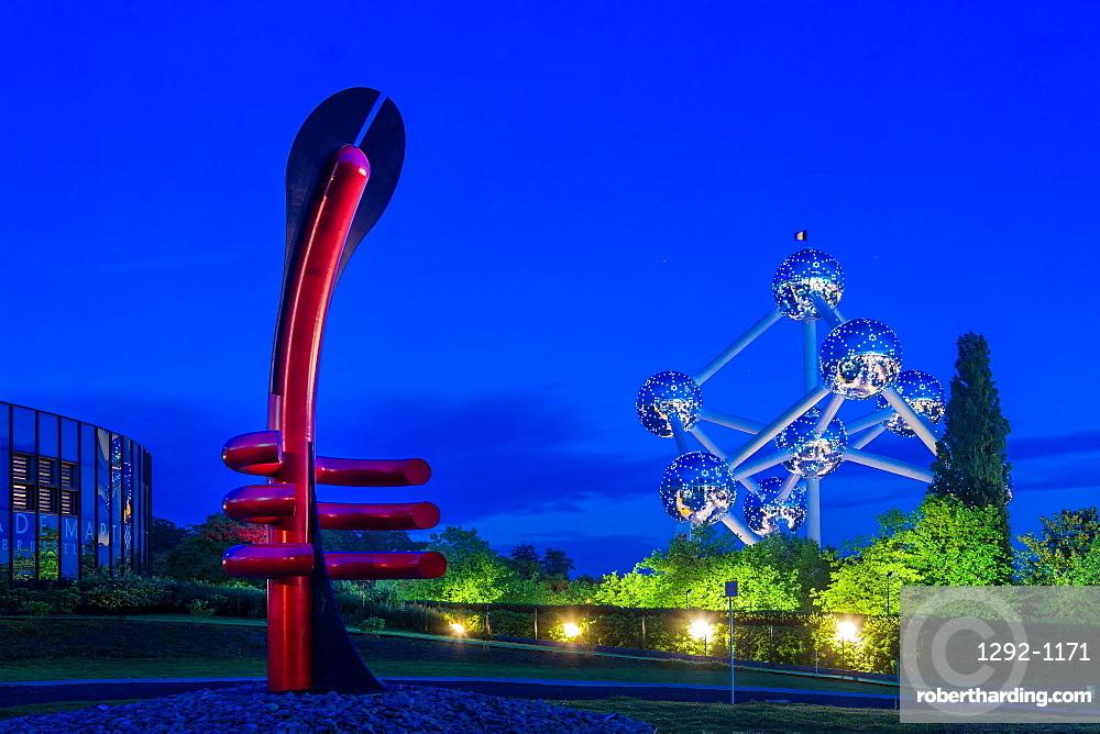 Adam Museum and the Atomium, Brussels, Belgium, Europe