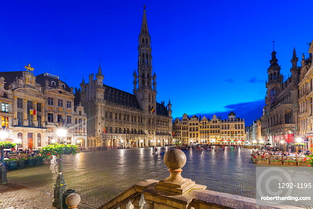 The Grand Place, UNESCO World Heritage Site, Brussels, Belgium, Europe