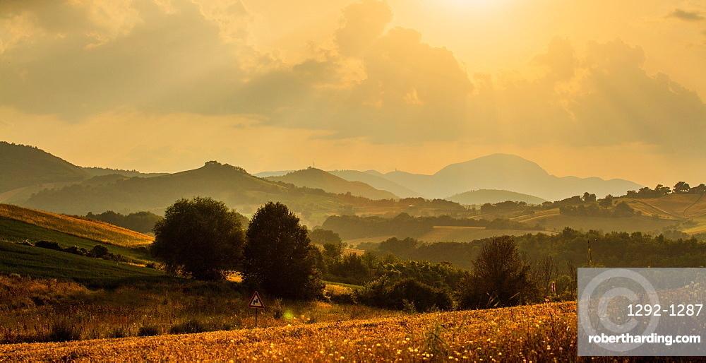 Near San Michele, Fabriano, Ancona, Marche, Italy, Europe