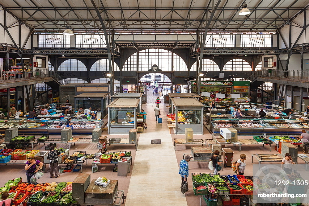 The covered market, Ancona, Marche, Italy, Europe