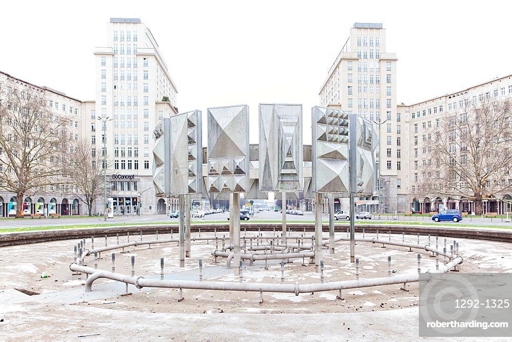 Strausberger Platz, Berlin, Germany, Europe