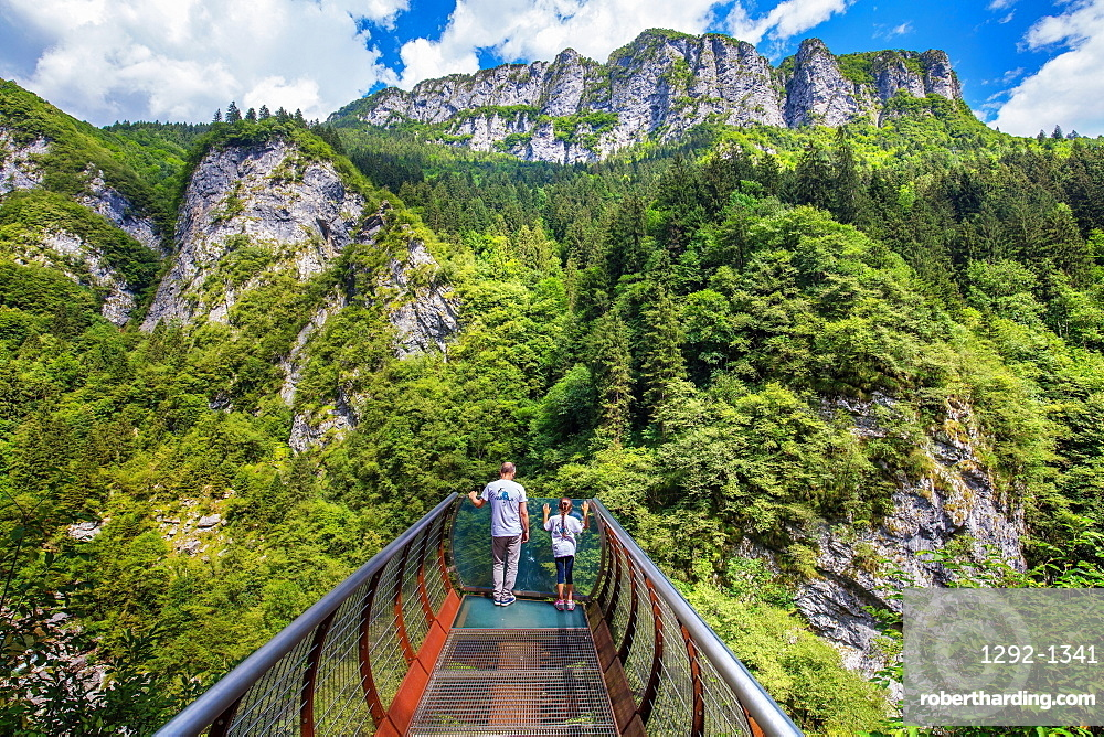 Canyon di Scalve, Via Mala di Scalve, Val di Scalve, Lombardy, Italy, Europe