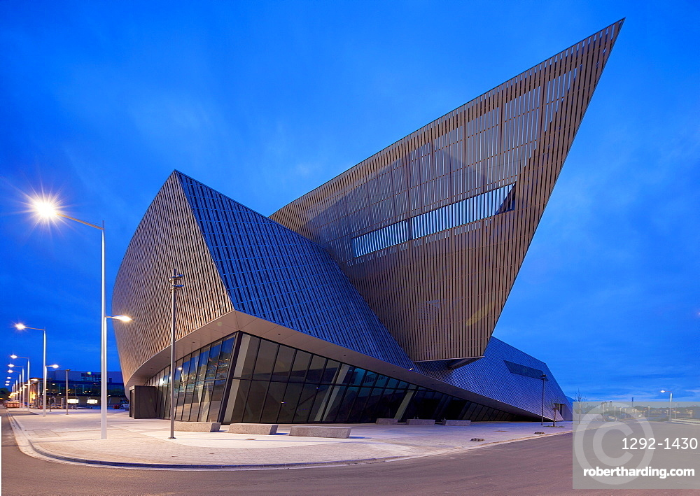 Le Manege Theatre, Mons, Wallonia, Belgium, Europe