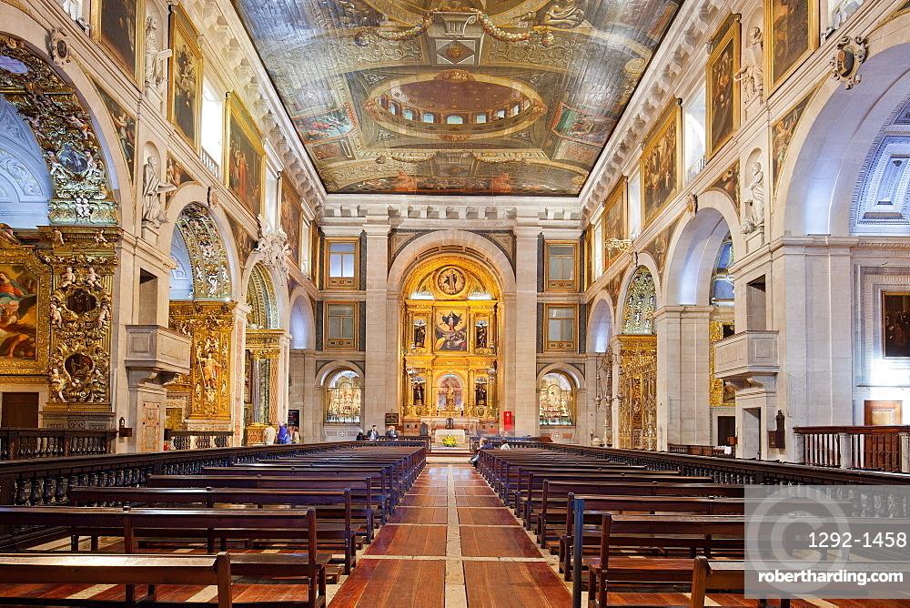 Sao Roque Church, Lisbon, Portugal, Europe