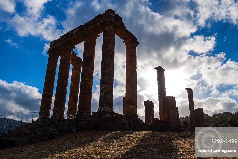 Antas temple, and ancient temple in  Fluminimaggiore, Iglesiente, Sardinia, Italy, Europe