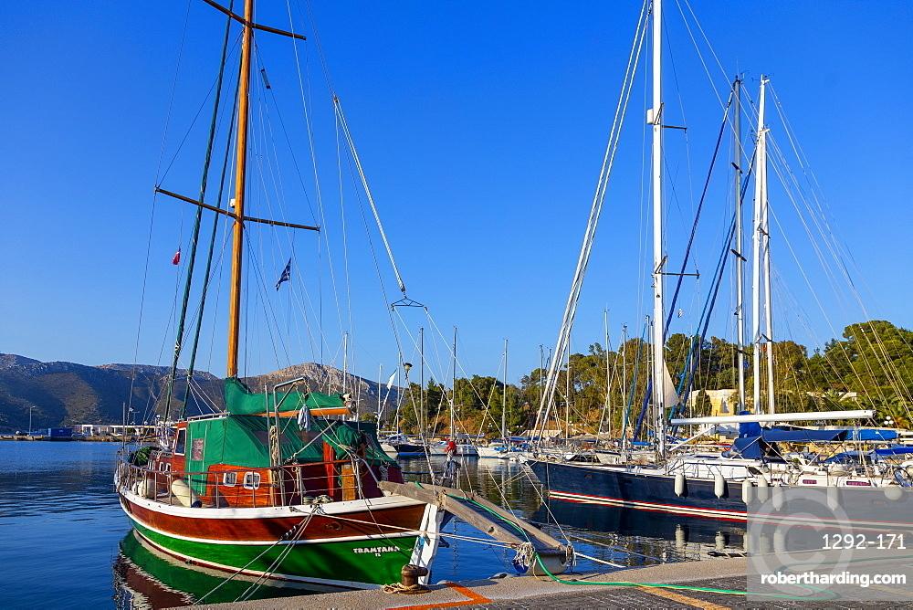 Lakki, Leros Island, Dodecanese, Greek Islands, Greece, Europe