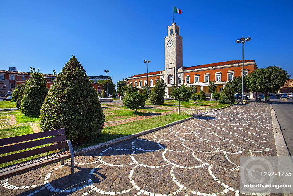 City Hall, Latina (Littoria), Latina, Lazio, Italy, Europe